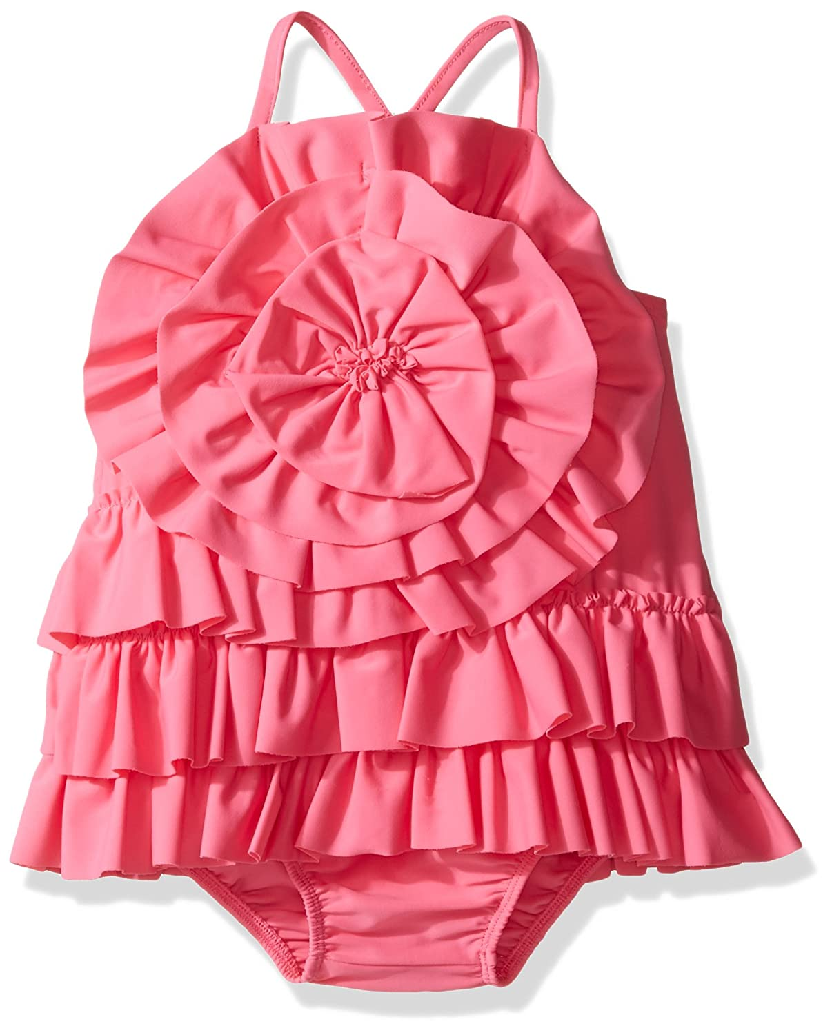 Mud Pie Womens Ruffle Swimsuit Infant//Toddler