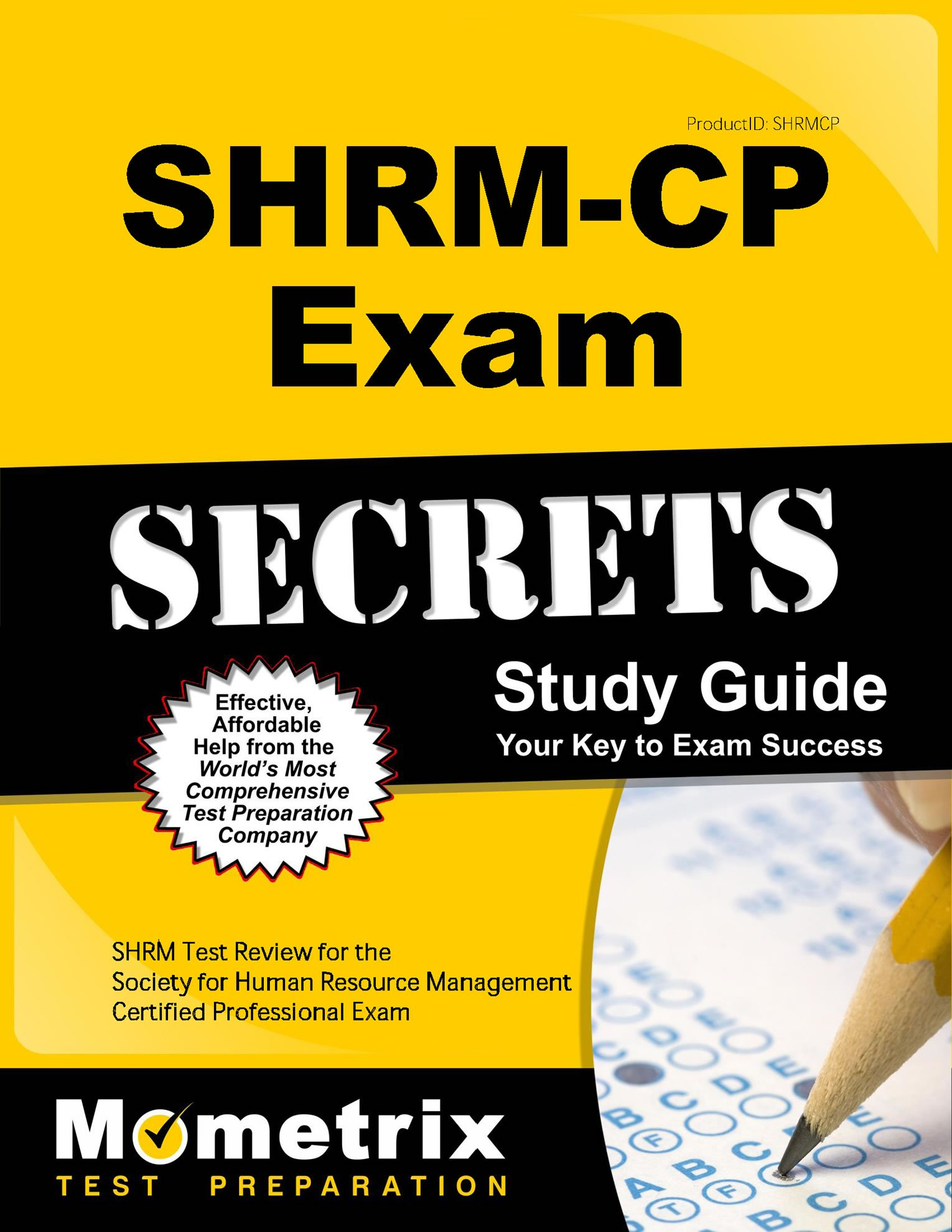 Buy Shrm Cp Exam Secrets Study Guide Shrm Test Review For The