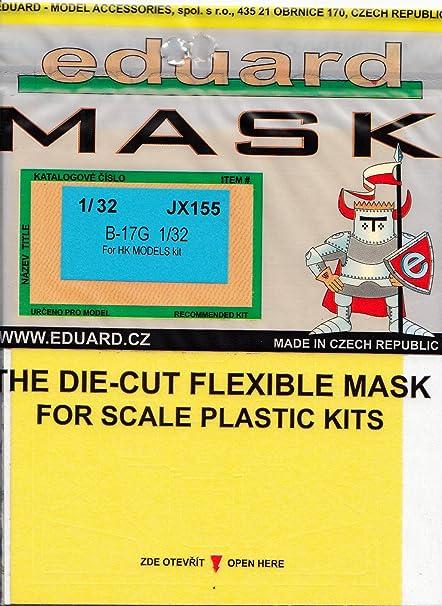 Amazon.com: PINTURA máscara para Eduard Masks 1: 32 – B-17G ...
