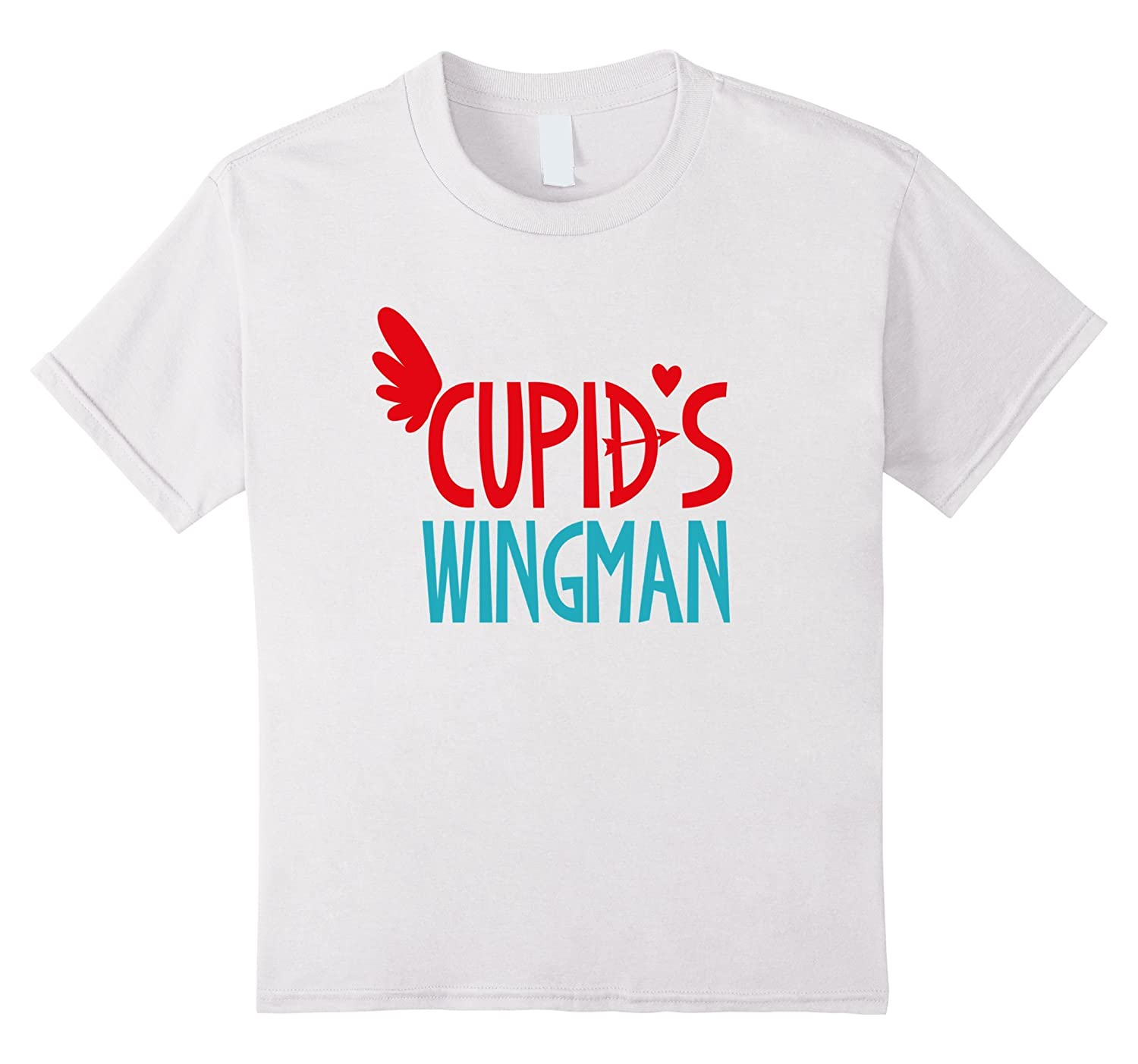 Valentines Day Shirt Cupids Wingman-Awarplus