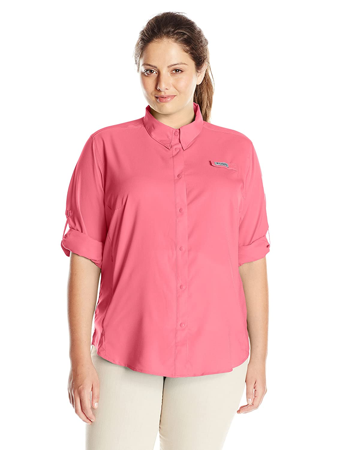 Columbia Sportswear Women's Tamiami II Long-Sleeve Shirt (Plus-Size) Columbia (Sporting Goods) 1275702-614