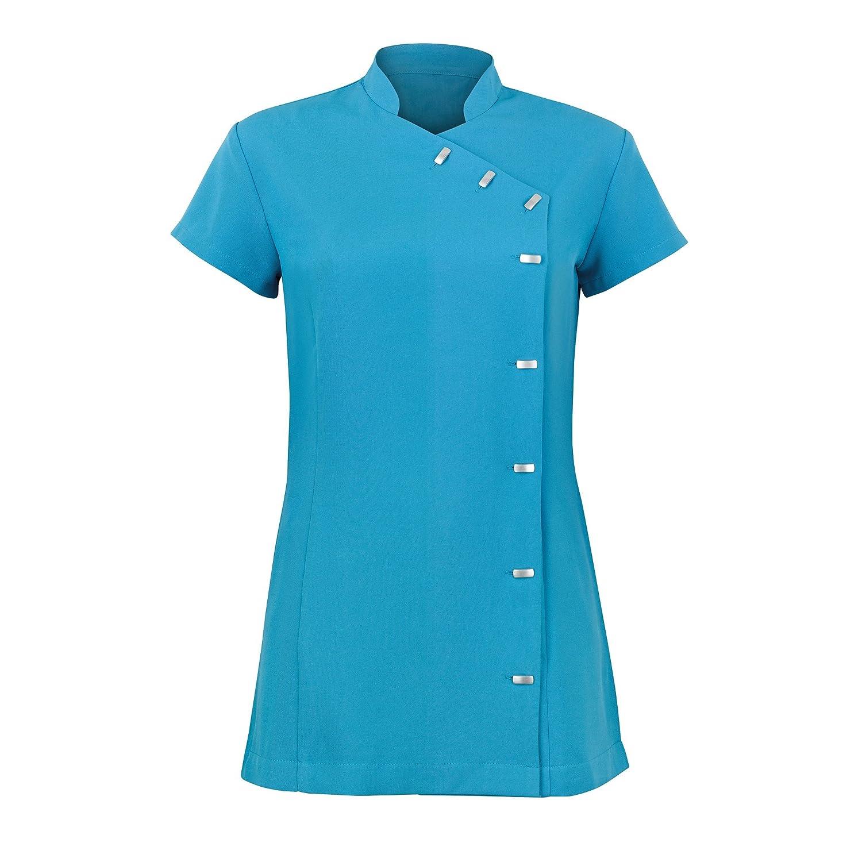Pack of 2 Alexandra Womens Easycare Wrap Beauty Tunic//Health Beauty /& Spa//Workwear