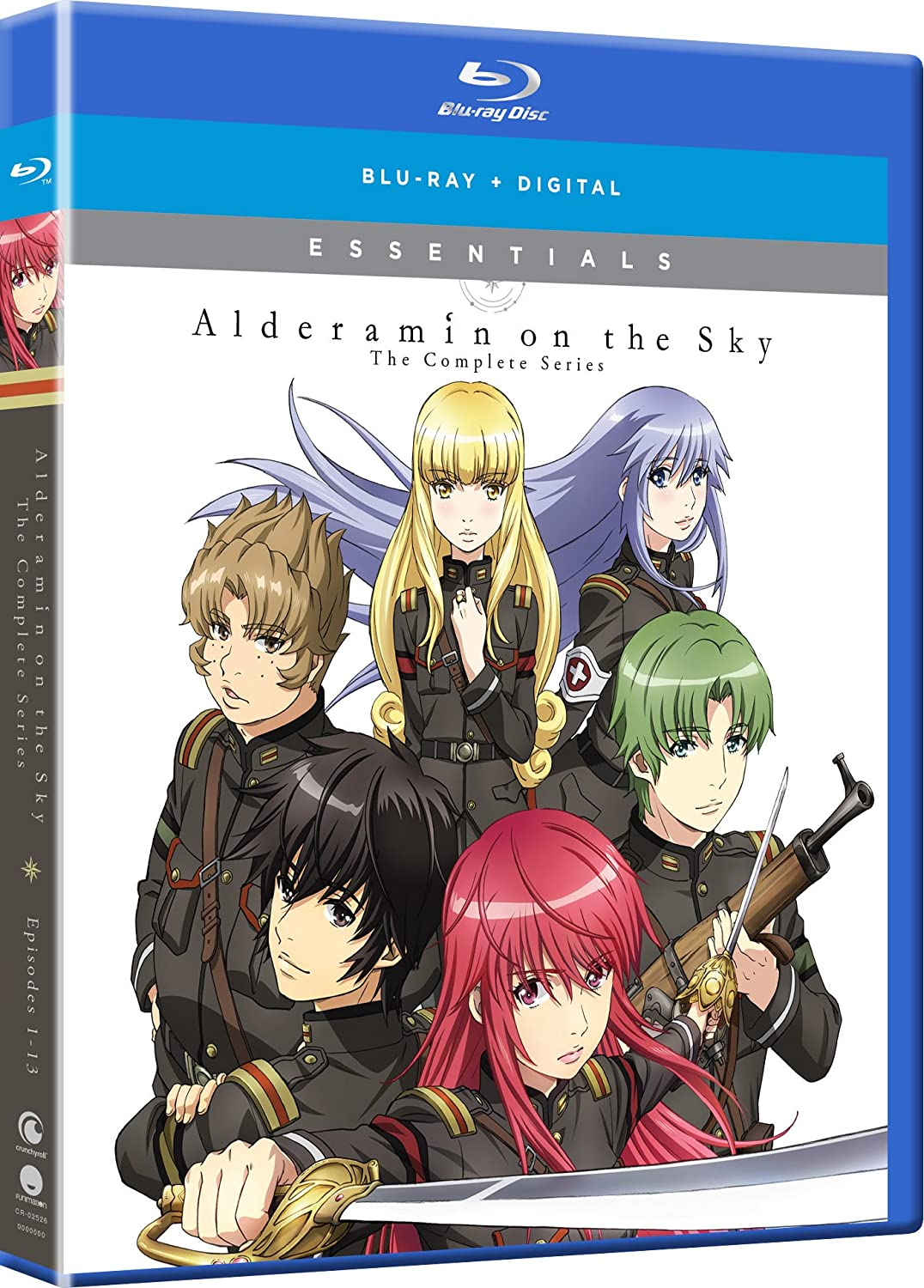 Alderamin of the Sky Essentials Blu-ray (Dual Audio)
