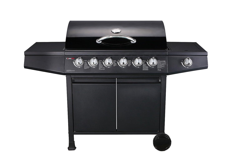 FirePlus CosmoGrill 6+1 Gas Burn Grill BBQ Barbecue w/Side Burner & Storage FirePlusTM
