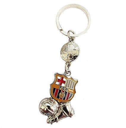 NEW Limited Edition 3D FC Barcelona Soccer Fan Keychain Spain Football League
