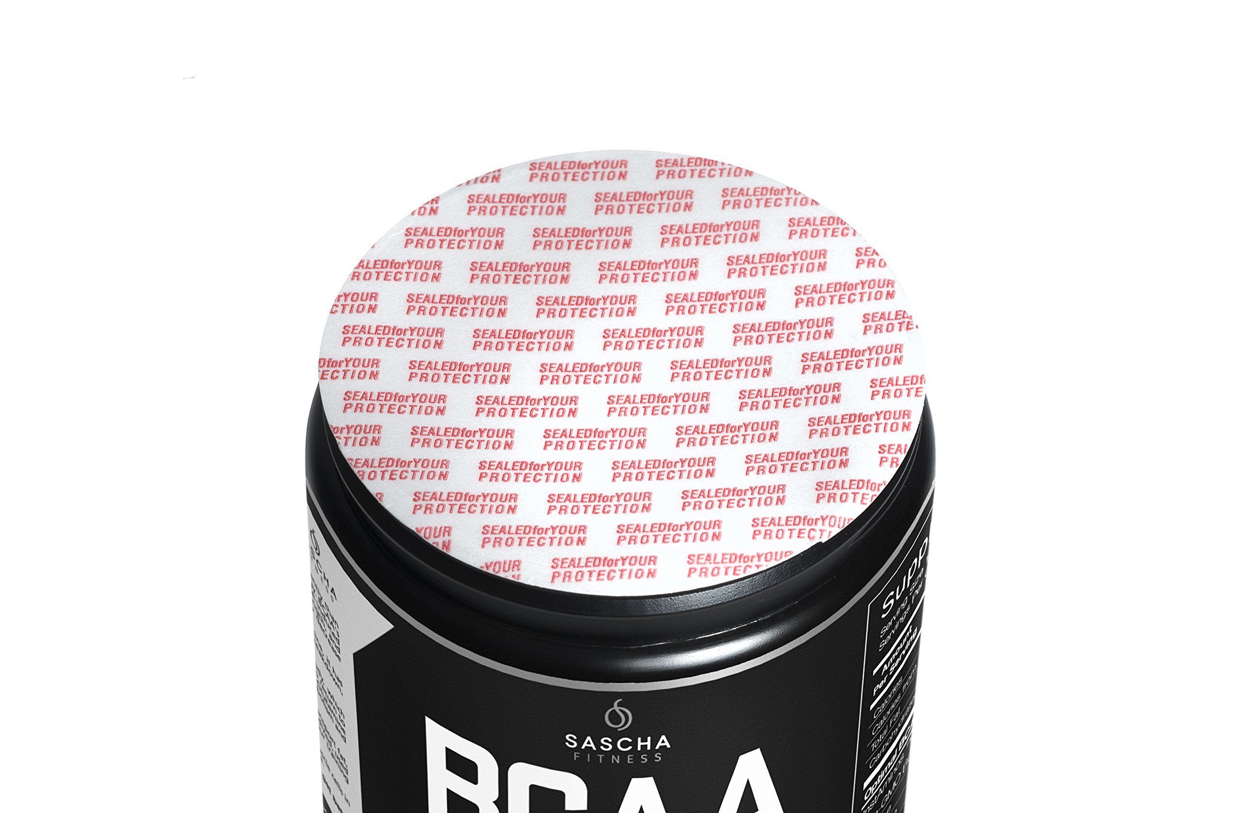 Sascha Fitness BCAA 4:1:1 + Glutamine, HMB, L-Carnitine, HICA | Powerful and Instant Powder Blend with Branched Chain Amino Acids (BCAAs) for Pre, Intra and Post-Workout | Natural Grape Flavor, 350g by SASCHA FITNESS (Image #1)