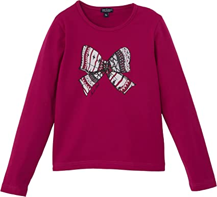Kid Cool - Camiseta para niña, Talla 12 años (12 años), Color Rosa (Rose Moyen): Amazon.es: Ropa y accesorios