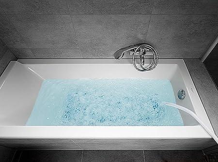 Whirlpoolmatte für die Badewanne im Betrieb