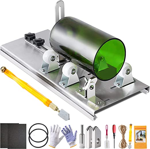 Glass Bottle Cutter Cutting Tool Upgrade Version DIY Glass Cutting Machine X6X2