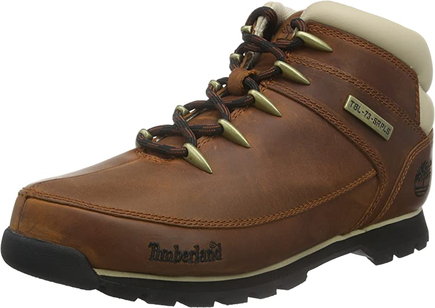 Mens Euro Sprint Hiker Leather Boots