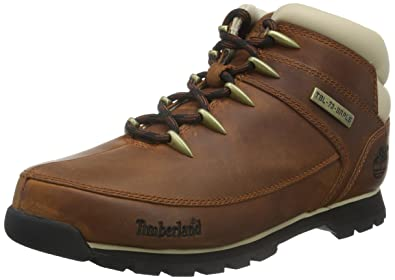 ba04e6f0c71 Image Unavailable. Image not available for. Color: Timberland EURO Sprint  Hiker Boots A121K Brown ...