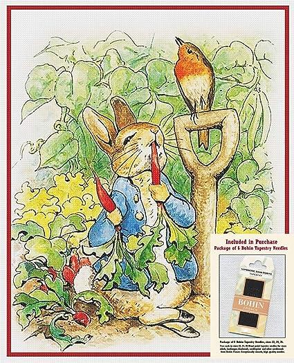 Beatrix Potter/'s Peter Rabbit Family Walk Counted Cross Stitch Chart Pattern