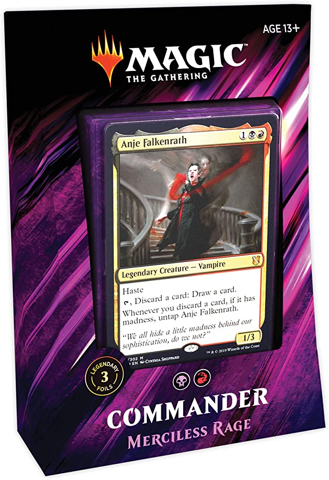 Magic: the Gathering | Commander 2019 Juego de Cartas, Furia despiadada