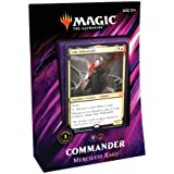 Magic: The Gathering Commander 2019 Merciless Rage Deck | 100-Card Ready-to-Play Deck | 3 Foil Commanders | Factory Sealed