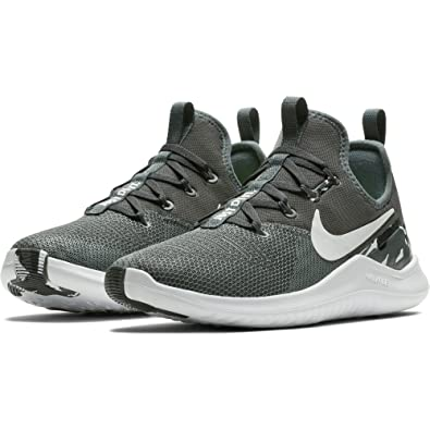 a5207b7a8a68 ... new style nike free tr 8 size 6.5 womens cross training dark grey white  black 6d454