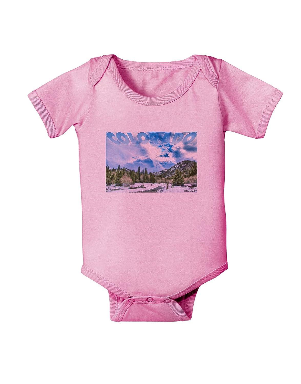 TooLoud El Dora CO with Text Baby Romper Bodysuit