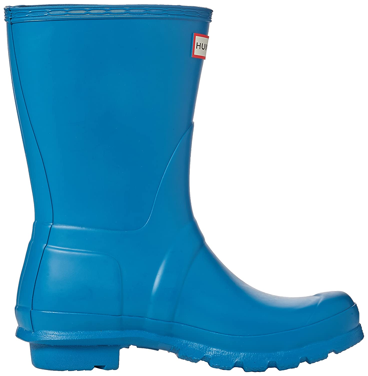 Hunter Women's Original Short US|Ocean Rain Boot B06WLGN51Q 6 B(M) US|Ocean Short Blue 273b55