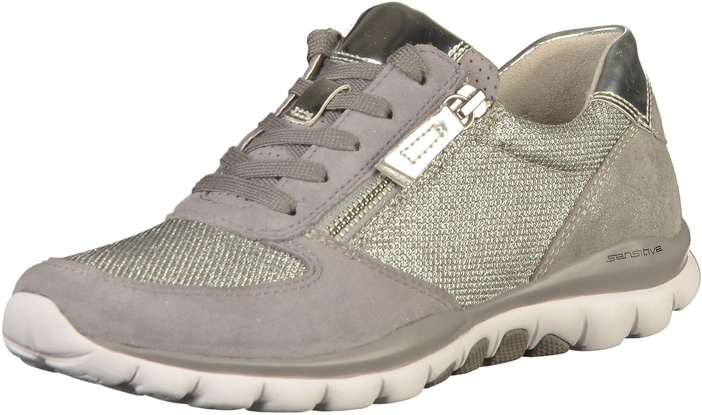 Gabor 86.968.15 - Zapatos de cordones para mujer 41.5 EU|gris