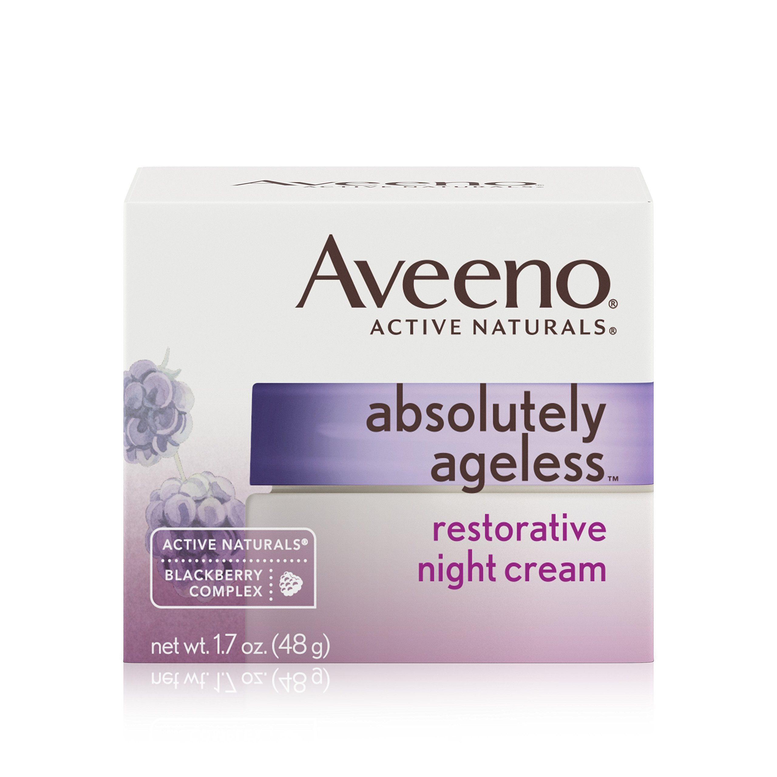 Aveeno Active Naturals Absolutely Ageless Nourishing Cleanser, 5.2 oz, 6 Pack 3 Pack - PURPOSE Cleansing Bar 3.60 oz
