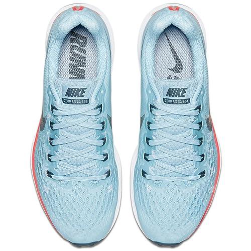 Amazon.com: Nike Air Zoom Pegasus 34 Zapatillas de running ...