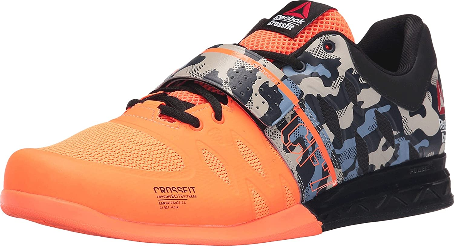 Reebok Men's Crossfit Lifter 2.0 Training Shoe B00O0QNU6Q 11.5 D(M) US|Electric Peach