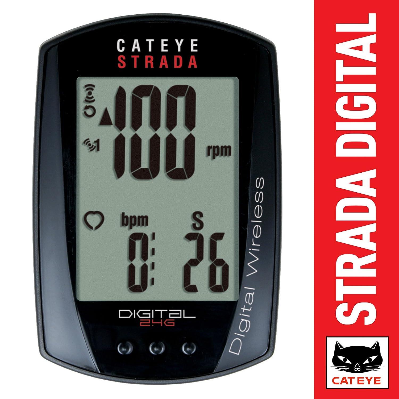 CAT EYE - Strada Digital Wireless Bike Computer Double Cateye CC-RD410DW