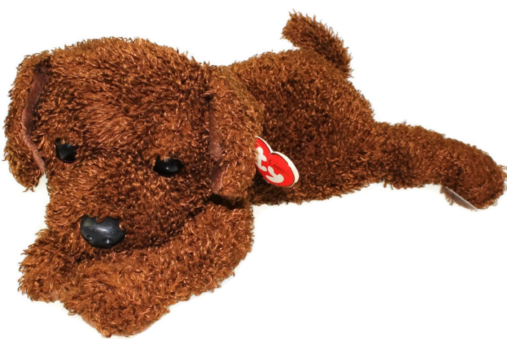 TY Classic Plush - FLOPPER the Brown Dog by Ty by Ty Classic