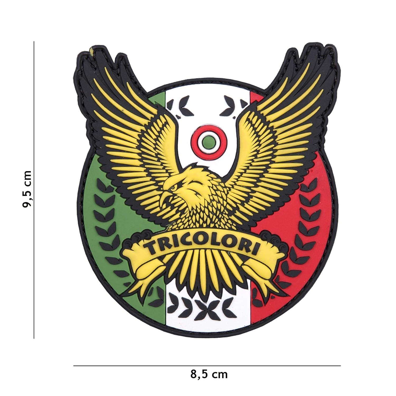 Tactical Attack Tricolori #1088 Softair Sniper PVC Patch Logo Klett inkl gegenseite zum aufn/ähen Paintball Airsoft Abzeichen Fun Outdoor Freizeit