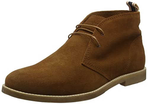 JACK & JONES Alpha - Botines para hombre, color marrón (cognac), talla