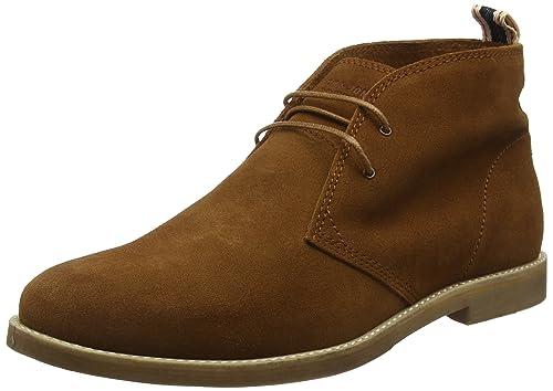 JACK & JONES Alpha - Botines para hombre, color marrón (cognac), talla