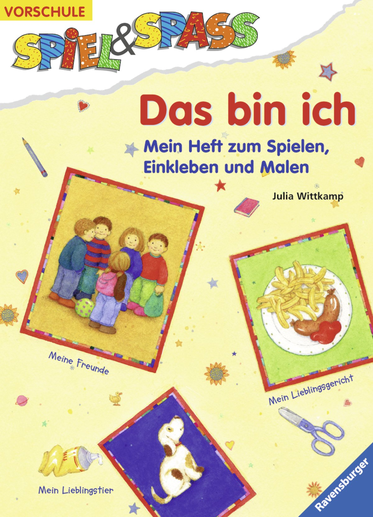 Das bin ich: Ein Heft zum Spielen, Einkleben und Malen Spiel & Spaß ...