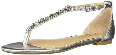 b52cc0f23b22 Badgley Mischka Jewel Women s Carrol II Sandal Silver 10 Medium US