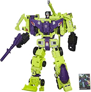 Transformers Generations Combiner Wars Devastator Figure Set