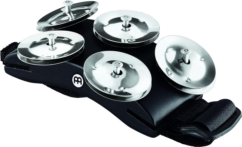 Ergonomisches Tambourine für den Fuß zur Begleitung von Cajon und Percussion