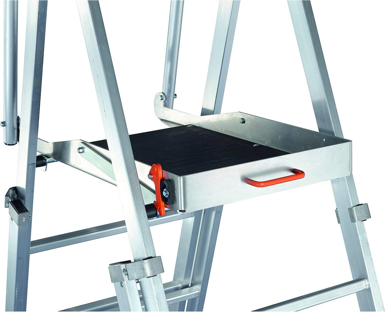 Zarges Zap telescópica Escalera de plataforma (12 peldaños Z600: Amazon.es: Bricolaje y herramientas