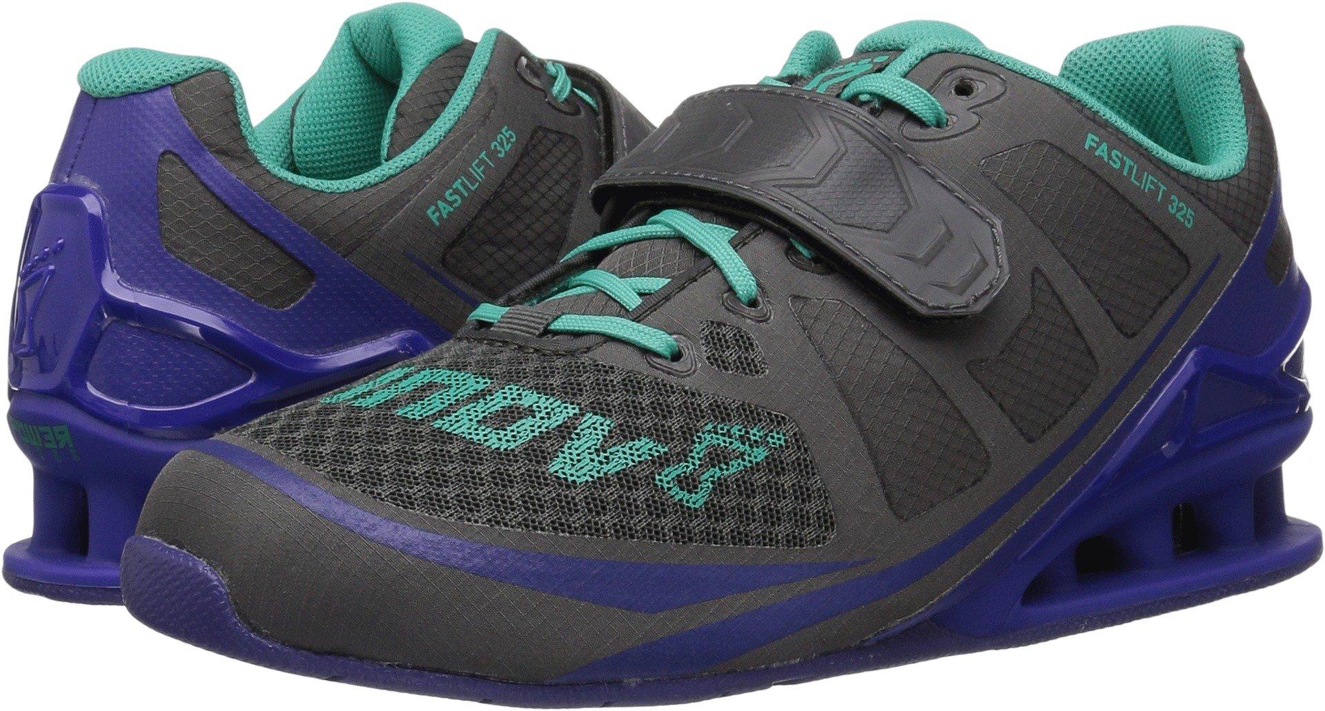 inov-8 Women's Fastlift 325 Dark Grey/Purple/Teal 8.5 F(M) UK / 11 B(M) US