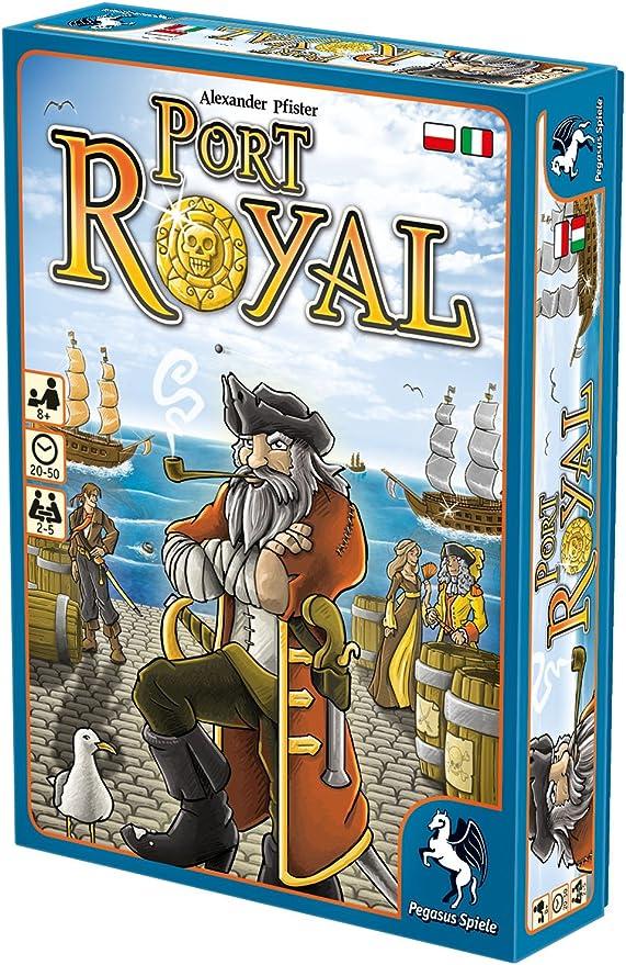 Pegasus Juegos 18114plit – Juego de Cartas Port Royal: Amazon.es: Juguetes y juegos