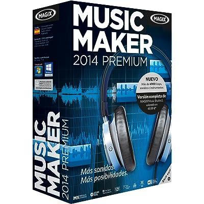 MAGIX Music Maker Premium 2014 - Software De Edición De Audio/Música