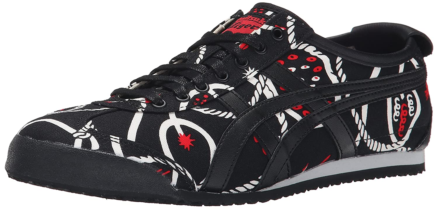 Onitsuka Tiger Mexico 66 Fashion Sneaker B013BA3OYY 7 M US Women / 5.5 M US Men|Karamari/Sumi