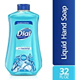 Dial Antibacterial Liquid Hand Soap Refill, Spring Water, 32 Fl Oz (Pack of 1)