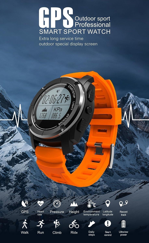 MINGFENG Reloj Inteligente S928 versión Mejorada GPS Sport ...