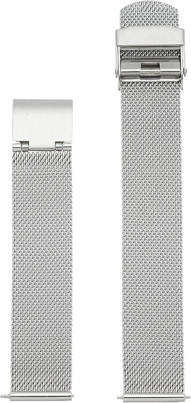 Skagen Women's 16mm Stainless Steel Mesh Watch Strap, Color: Silver-tone (Model: SKB2045)