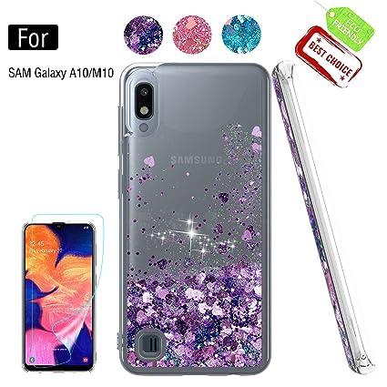 Amazon.com: Atump - Carcasa para Samsung Galaxy M10 y Galaxy ...