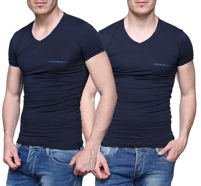 Armani Giorgio - Camiseta - para Hombre Azul Azul