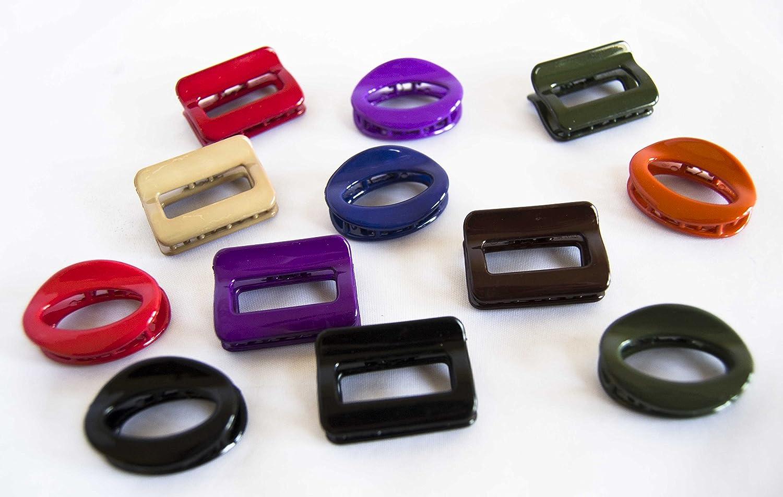 Confezione di 12mollette ovali e rettangolari 3, 5cm. spedizione gratis 72H Sánchez Alegría
