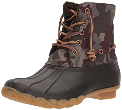 Steve Madden Women's Torrent Rain Boot, Camo Multi, ...