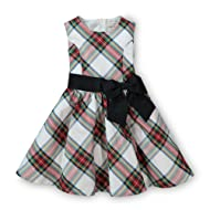 Hope & Henry Girls' Taffeta Holiday Party Dress