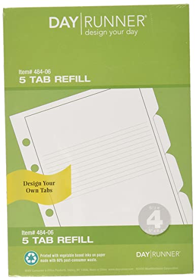 amazon com day runner design your own planner tab 484 06 office