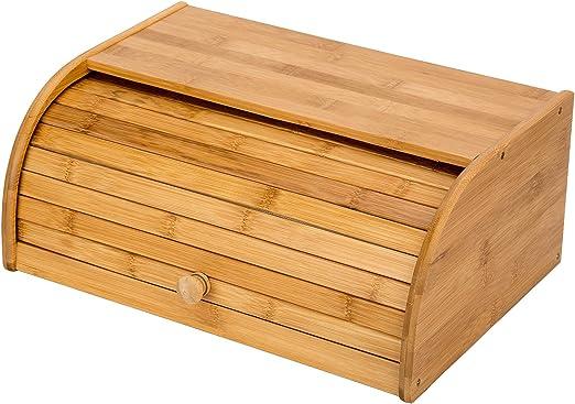 Caja de Madera para Pan Bin: Amazon.es: Hogar