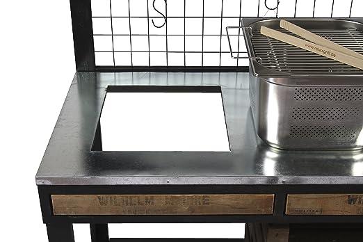 Outdoorküche Edelstahl Xxl : Outdoorküche pico mit edelstahl einbaugrill grilltisch bartisch